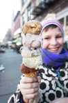 ice cream winter
